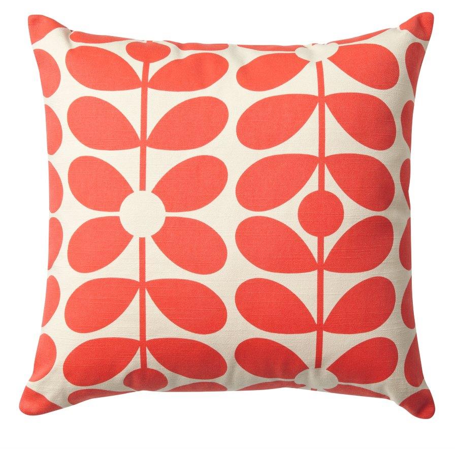 Printed cushion sixty stem sml