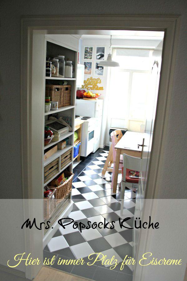 Mrs Popsocks Küche- tit end