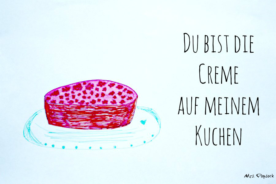 Erdbeercreme-Kuchen