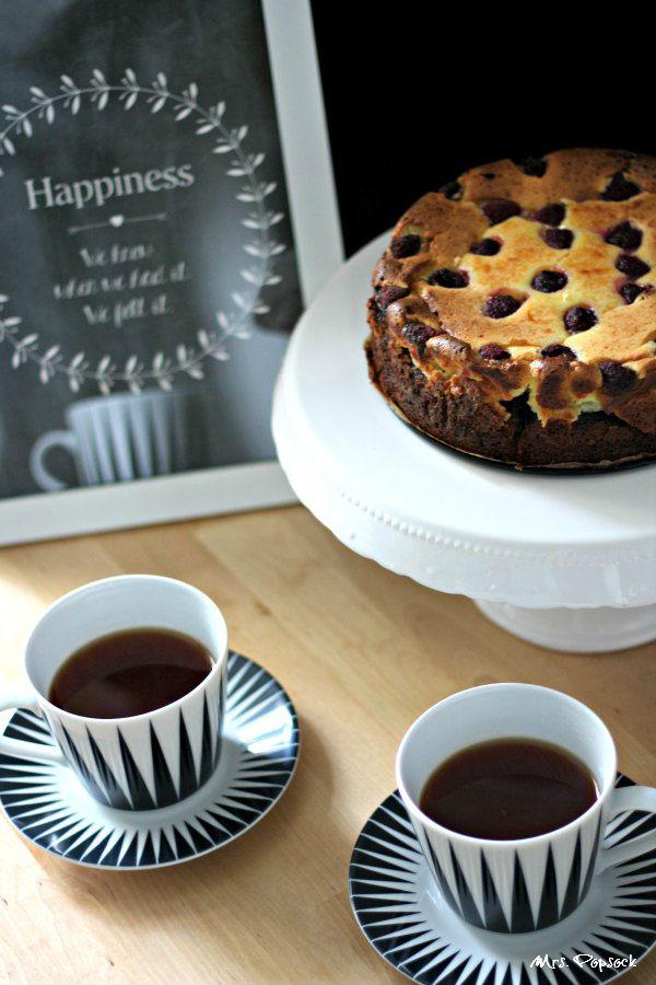 Tee mit happiness & cheese cake