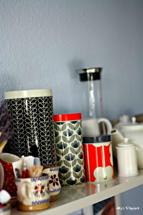 orla kiely auf mrs- popsocks küchenregal