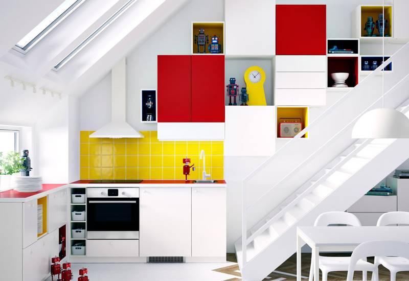 Dachschräge Möbel Ikea