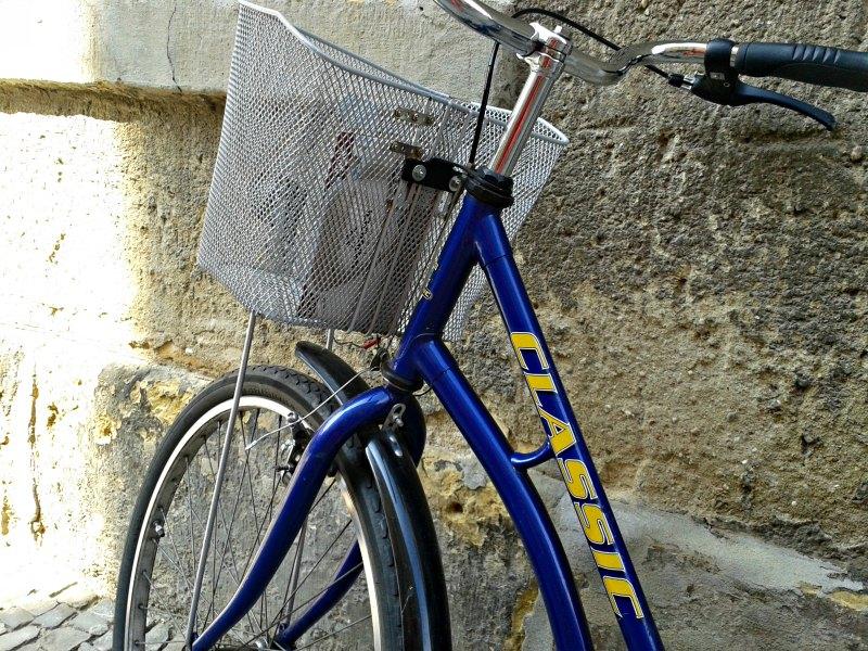 fahrrad in wittenberg