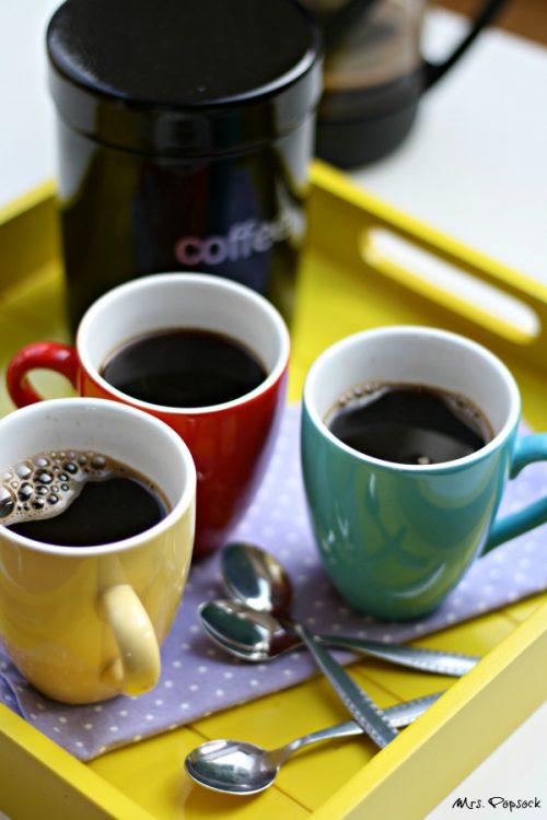 kaffee in tassen