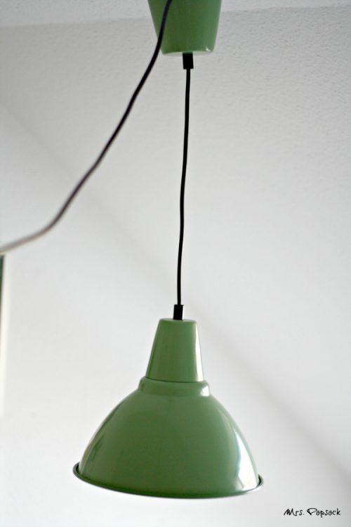 Küchenlampe minty green