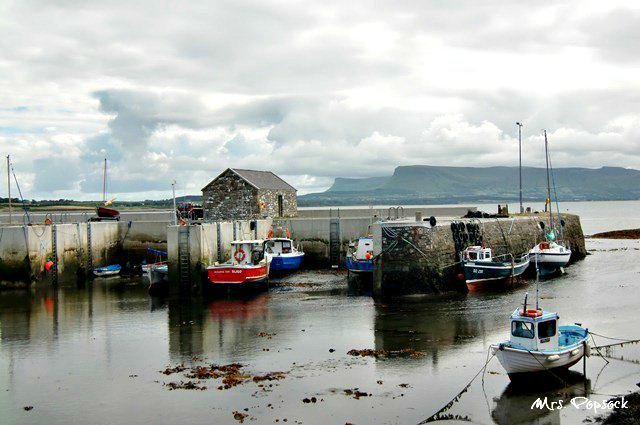 Hafen in Sligo - fast wie in Schweden