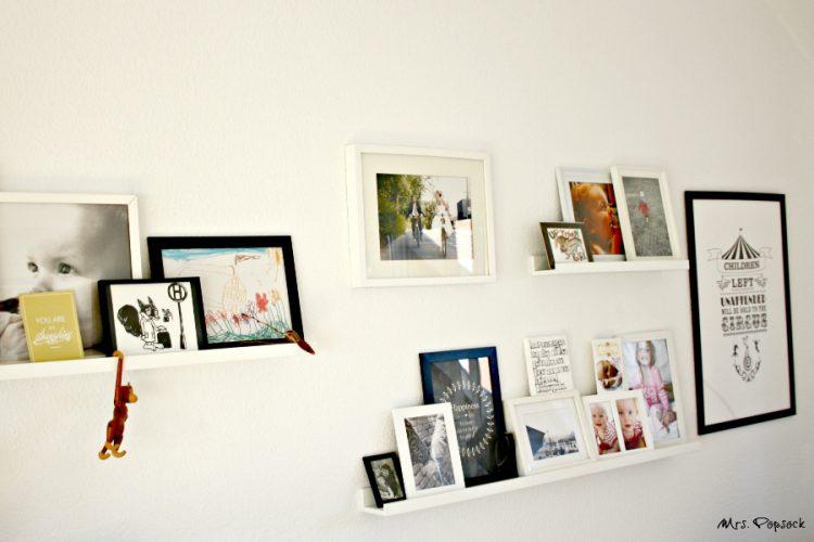 WOhnzimmer Wand neuer Print