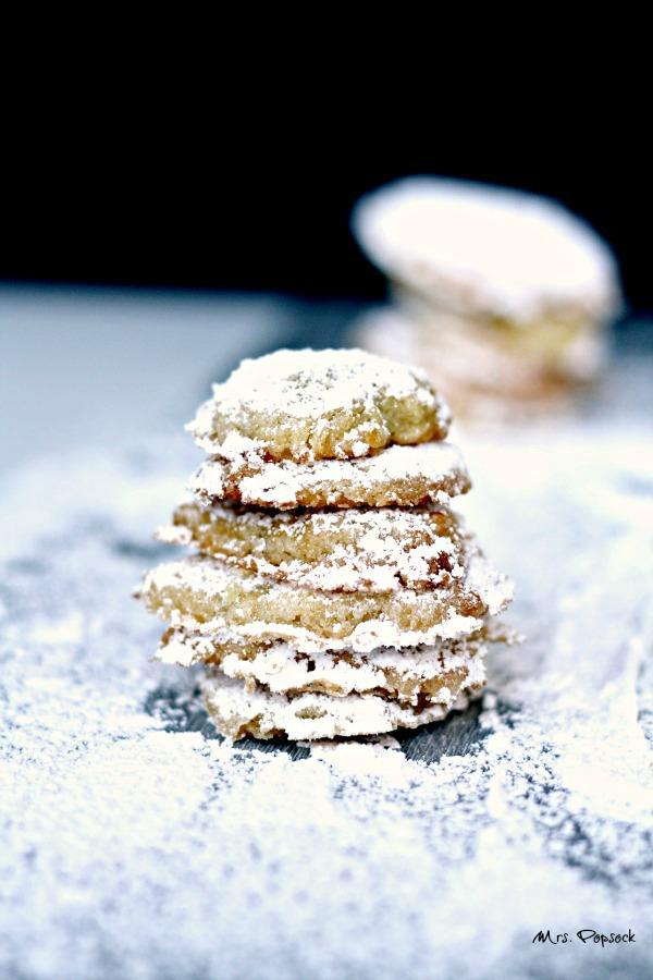 frau holle kekse als schneebrocken