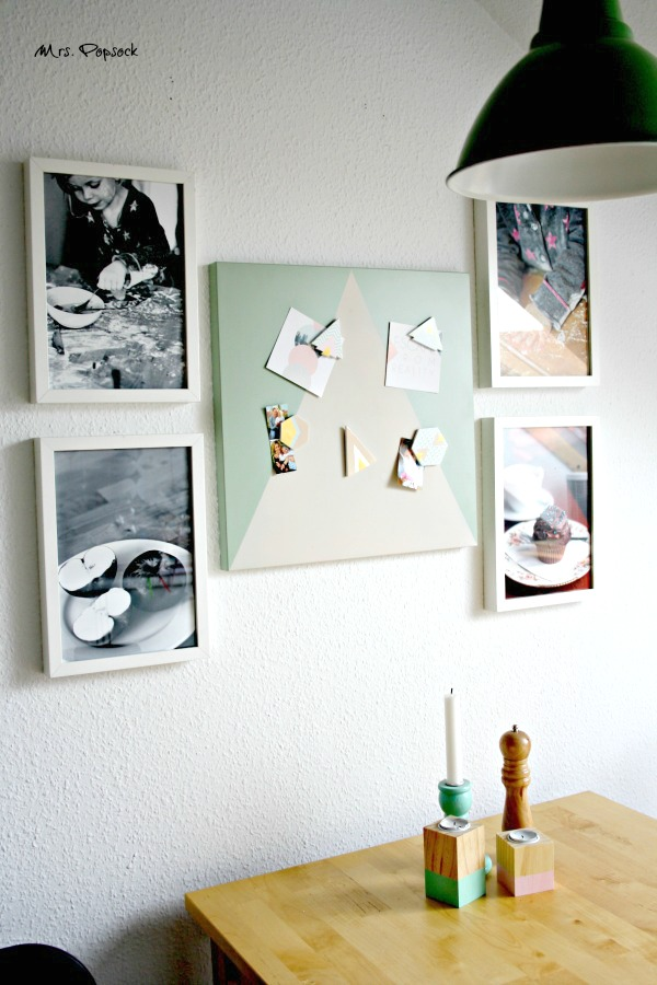 Magnet-Wand Skandi Style