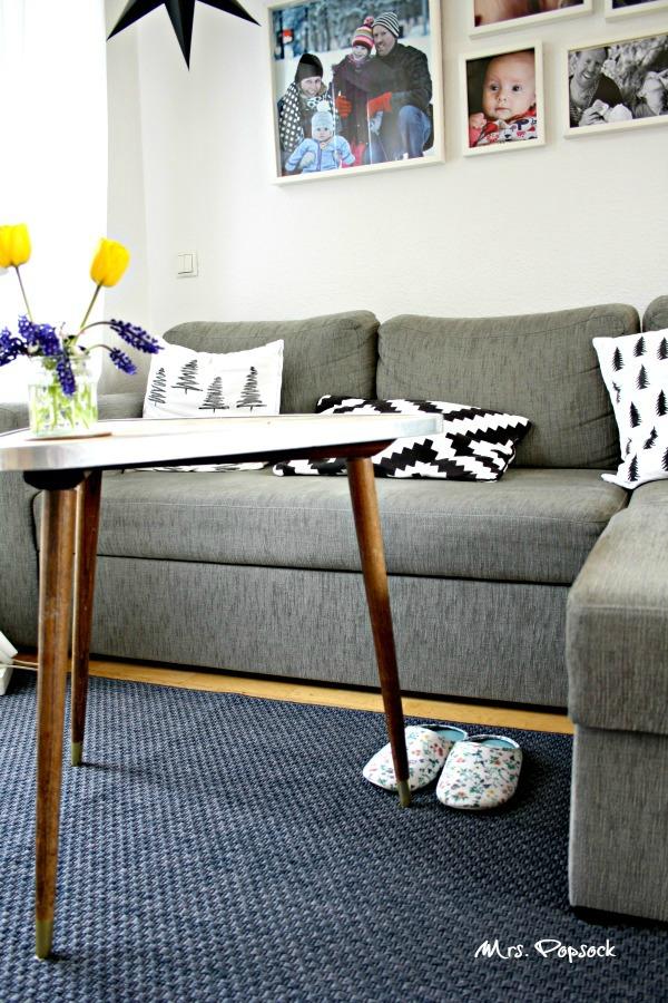 teppich vor couch